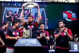 NRG Esports lifted the winner's trophy at the Intel Extreme Masters Shanghai 2018.