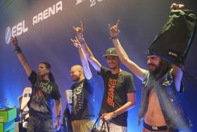 The crowd at German metal festival Wacken got to enjoy some esports action at the ESL Arena.
